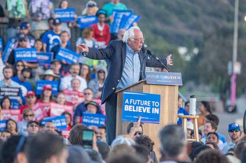 Bernie Sanders Qualcomm Rally